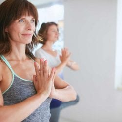 Taking up or changing a current exercise regime is a fabulous way to help tackle some of the symptoms of Menopause. One of the main symptoms caused by the drop in Oestrogen is joint and muscle pain/stiffness and a loss of suppleness. Switching to less high impact types of exercise such as cycling or swimming, introducing weight training and taking up yoga are all good types of exercise