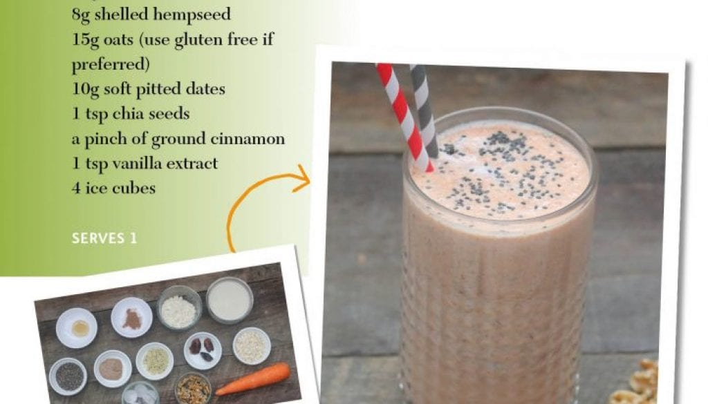 healthy carrot smoothie